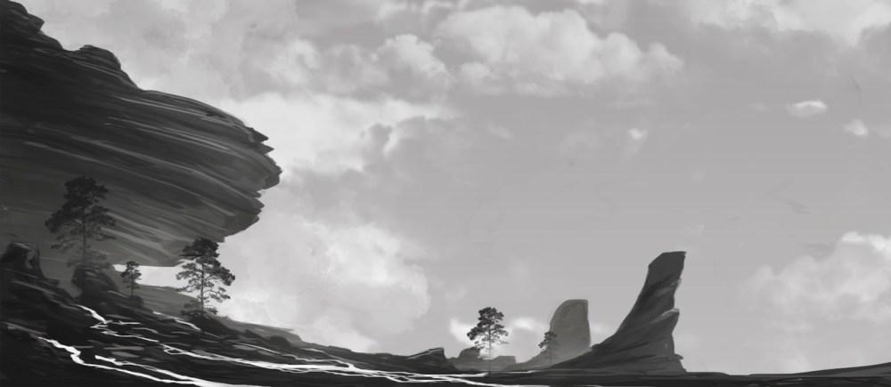 Fantasy Landscape by Felipe Forntiani