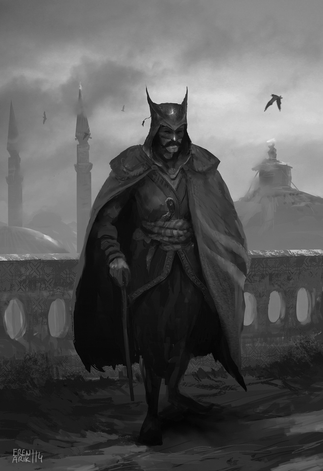 Ottoman Batman By Eren Arik