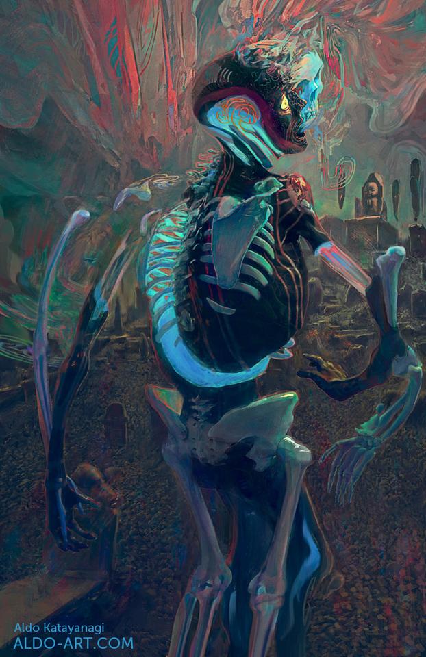 Ghost by Aldo Katayanagi