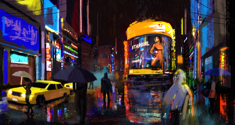 Rainy Night by Jan Hadzic
