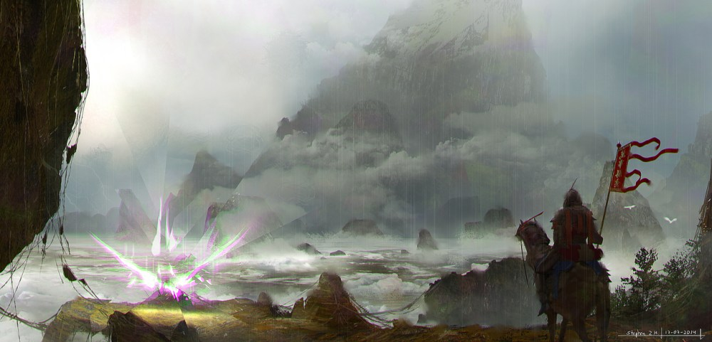 Space Distortion Demon by Stephen Zavala