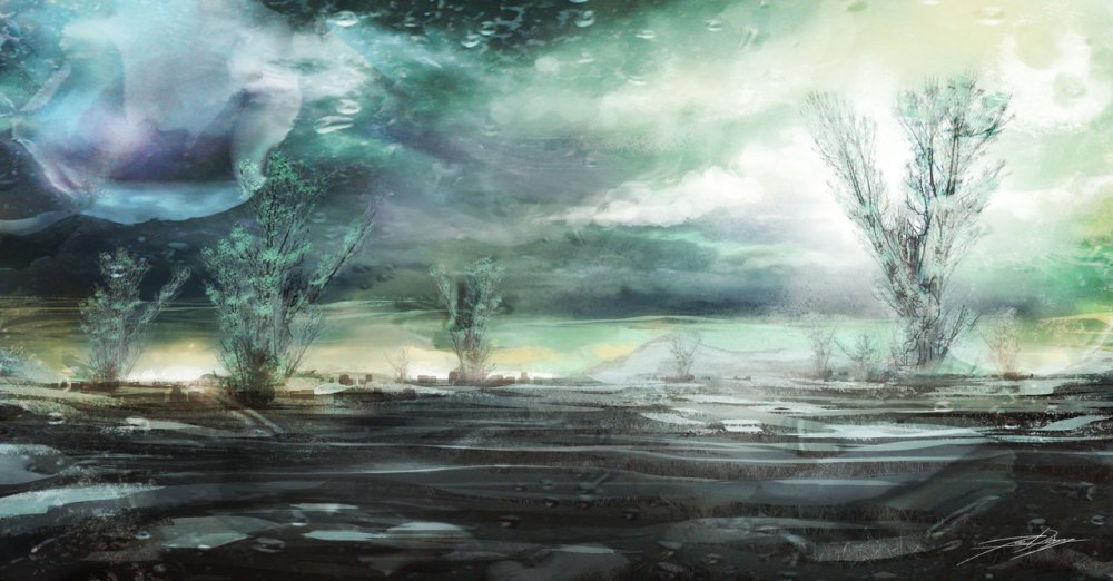 Boreal PLanetscape by Joe Darkbugg