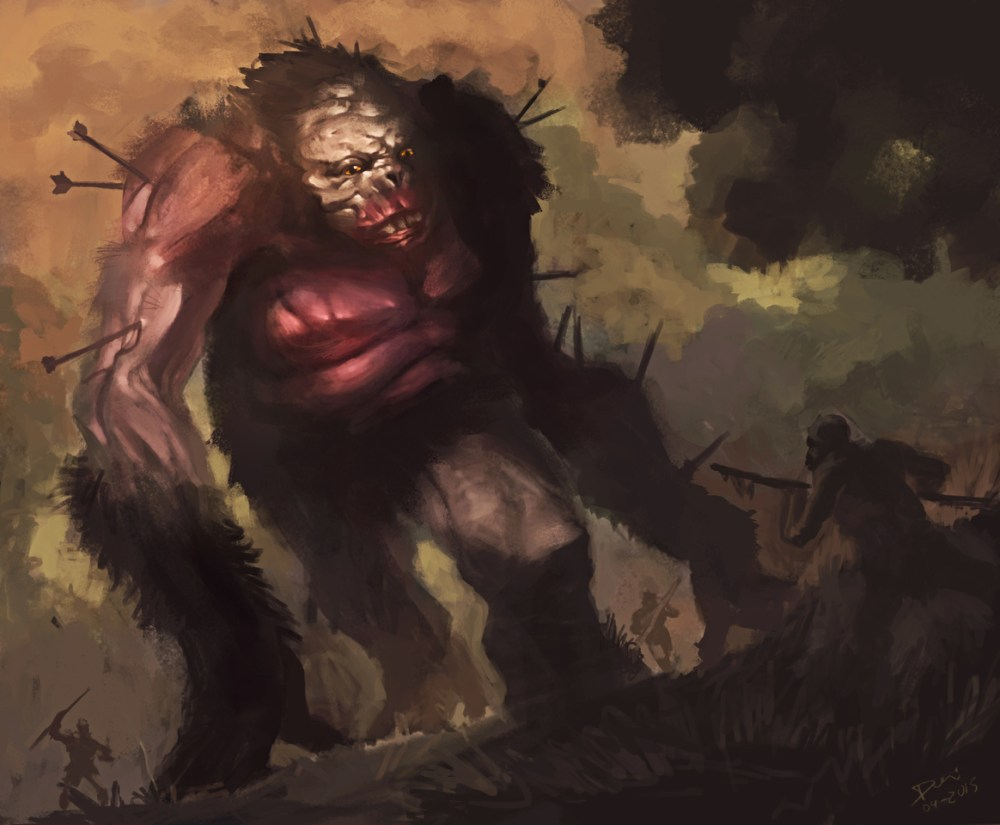 Prehistoric Big Foot by Douglas Deri