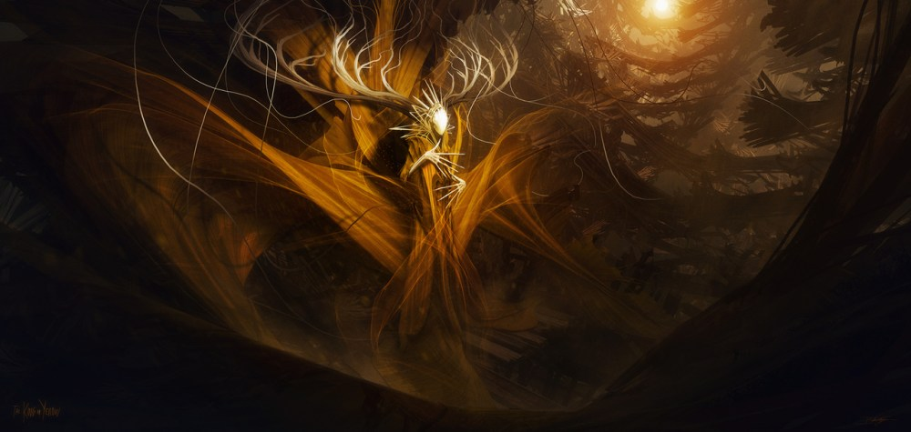 The King In Yellow by Bastien Grivet