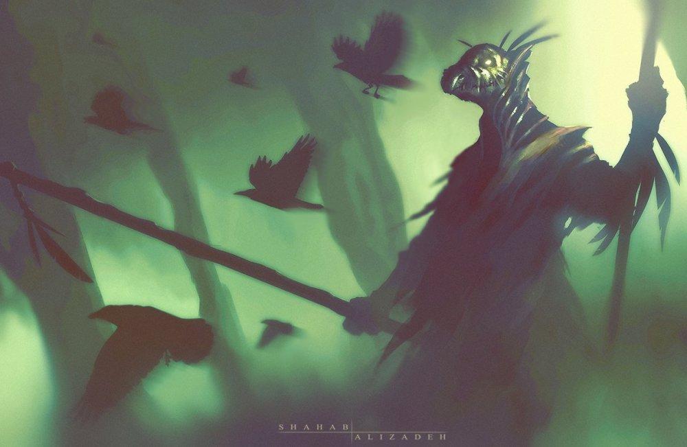 Warlock by Shahab Alizadeh