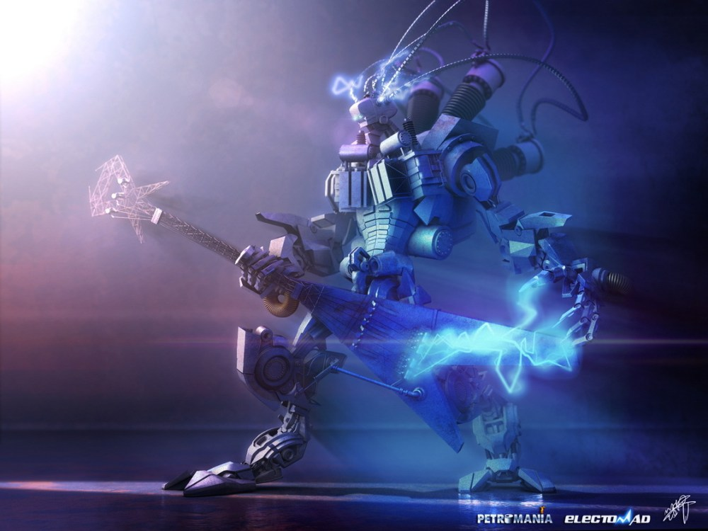Rock And Roll Robot by Mohammad Attaran
