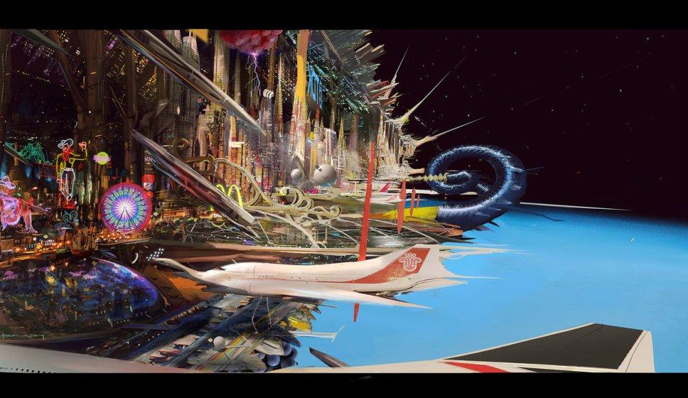 Space Vegas 5 by Alex Brady