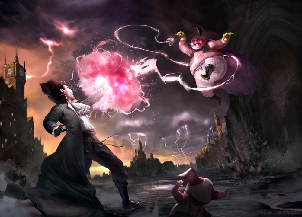 Victorian Dragon Ball Z by Taylor Christensen