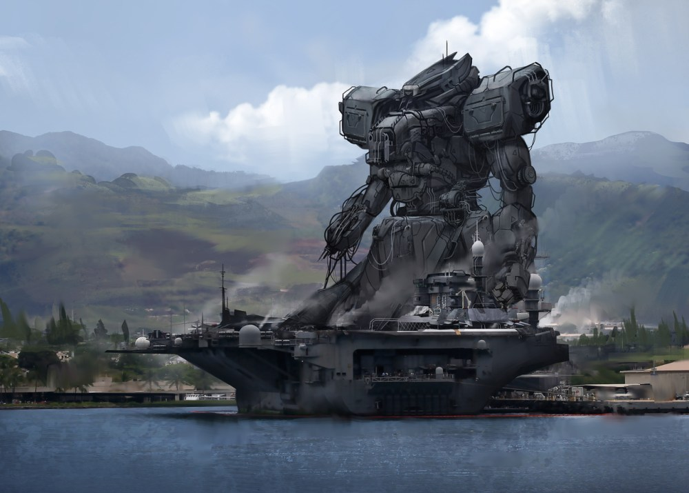 Mechaboat by Jeff Paulsrud
