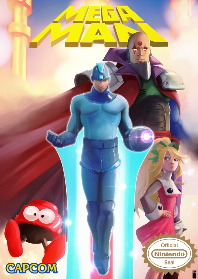 Megaman by Edgy Scrawl
