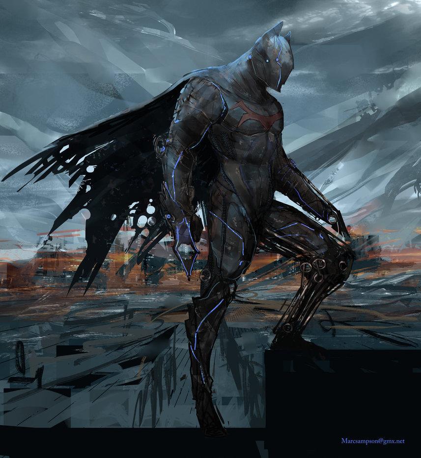 Batman Redesign By Marc Sampson