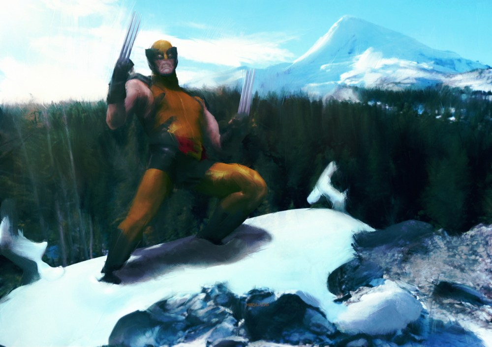 Wolverine by Chema Mansillia