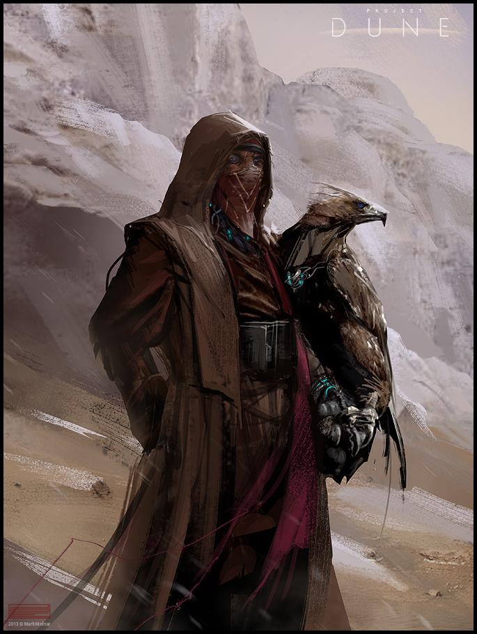 dune fremen eagle hunter by mark_molnar