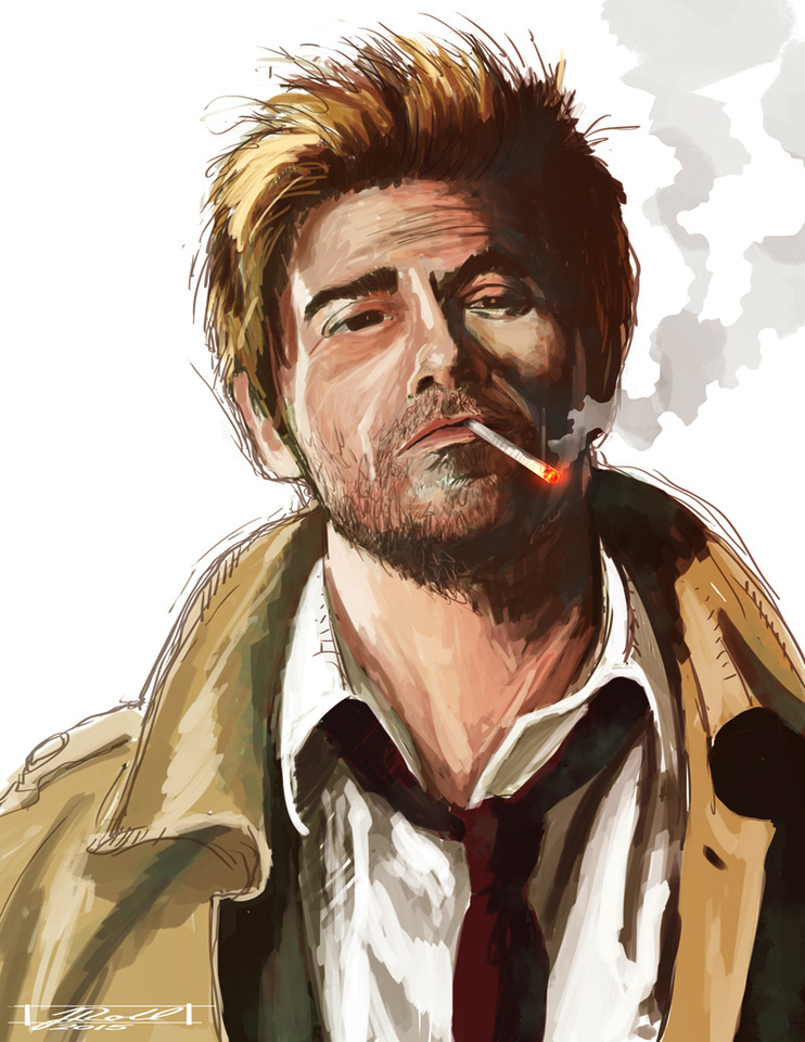 John Constantine by Jason Roll