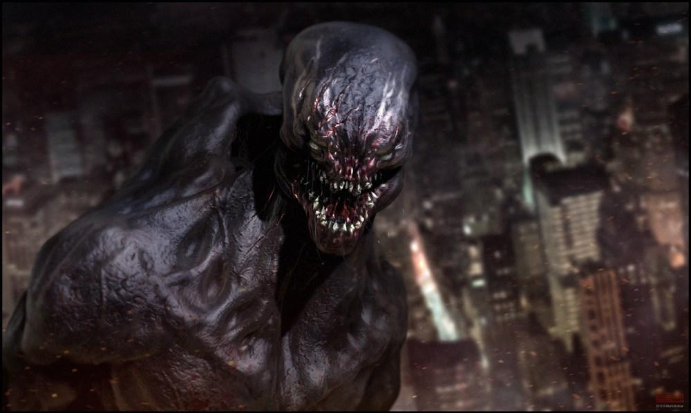 Venom Concept Scult by Mark Molnar