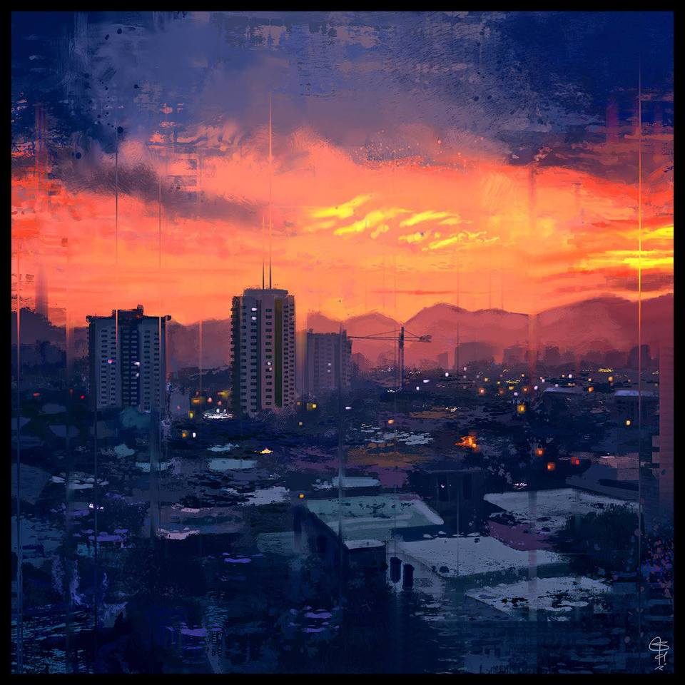 Sunset City by Satyaki Sarkar