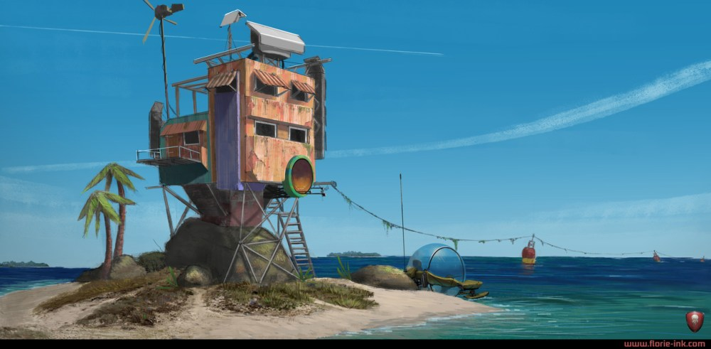 Island by Robin Florie