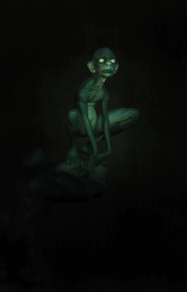 Gollum by sam greenwell