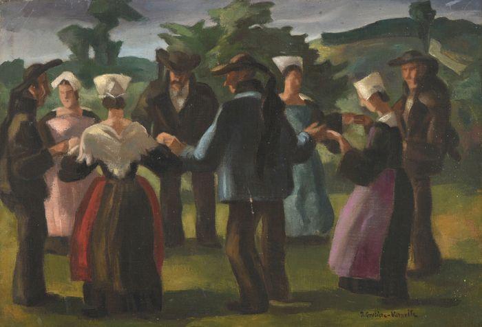 Jean GOUTIERE-VERNOLLE         :   Danse bretonne