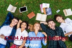 cs504 assigment solution file