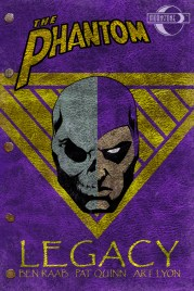 Cover design, The Phantom: Legacy (line art by Pat Quinn)