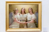 František Tkadlík: Tři objímající se andělé, 1822 0258 Ivan Sobotka: Anděl, 1958