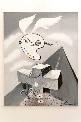 Milan Kunc: Hrob neznámého malíře, 1984