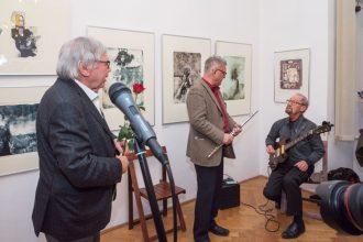 VLADIMÍR SUCHÁNEK-Litografické příběhy v galerii Hollar
