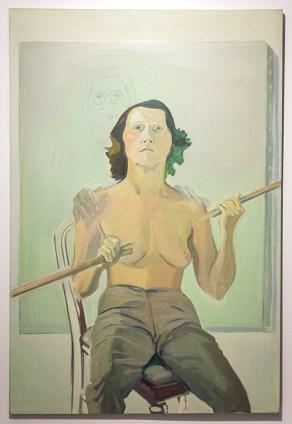 Marie Lassnig, autoportrét