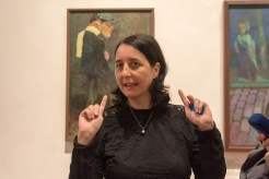 Anna Pravdová, kurátorka výstavy