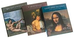 Umění velkých mistrů ve třech obrazových publikacích