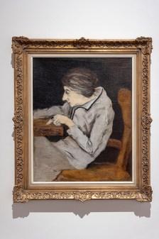 Josef Šíma: Portrét Louise- Denise Germainové 1922