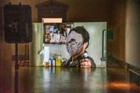 Daniel Pitín, výstava Papírová věž, Galerie Rudolfinum, Praha, 2019---Daniel Pitín, Exhibition A Paper Tower, Gallery Rudolfinum, Prague, 2019, photo: PetrSalek.com