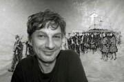 Michal Mihalčik maluje obrazy sostravskou duší.