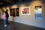 Pavel Bultas vystavuje své obrazy na Smíchovské náplavce