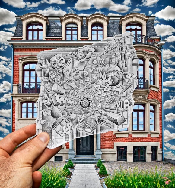 Ben Heine Art - Pencil Vs Camera
