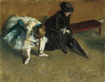 Várakozás, 1882., The Norton Simon Museum of Art, Pasadena
