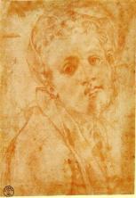 Jacopo Pontormo: Önarckép, 1527, Uffizi, Firenze