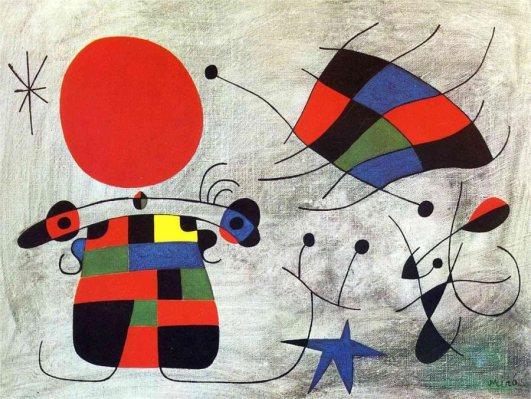 Joan Miró: A színpompás szárnyak mosolya, 1953