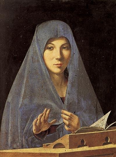 Antonello da Messina, Vergine Annunciata, 1475.
