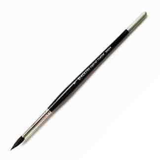 Кисточка «Kolos» Classic 3049R Белка круглая №05 короткая ручка черный ворс
