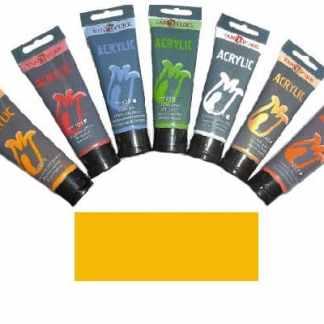 Акриловая краска 75 мл 024 желтая темная Van Pure