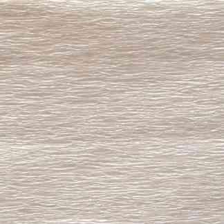 Бумага гофрированная 705411 Белая перламутровая 20% 26,4 г/м.кв. 50х200 см (Т)