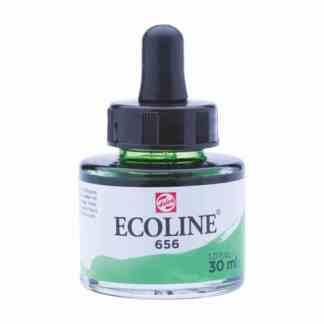 Акварельная краска жидкая Ecoline 656 Зеленая лесная 30 мл с пипеткой