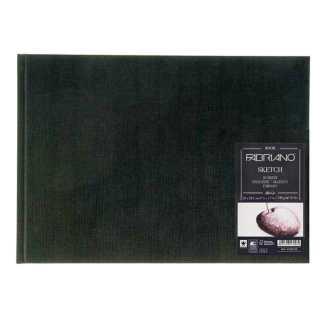 19100005 Альбом для эскизов Sketch Book А4 (21х29,7 см) 110 г/м.кв. 80 листов в переплете по короткой стороне Fabriano Италия