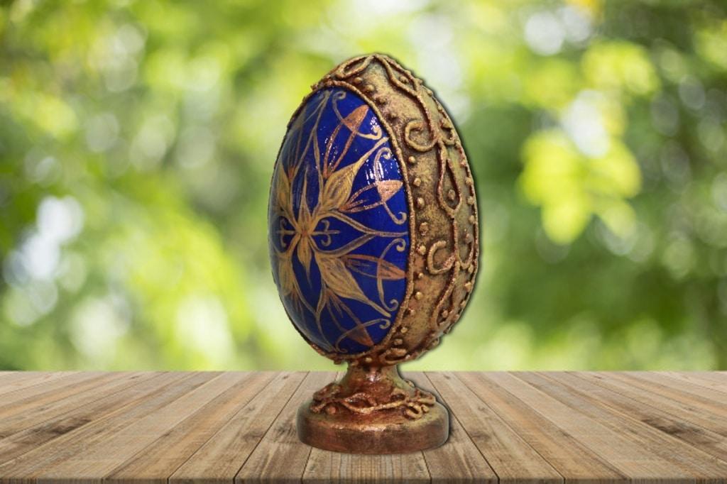 Мастер-класс по декорированию яйца «Фаберже» материалами Primo™ - 13