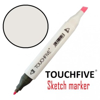 Маркер двусторонний 109 Pearl White TouchFive