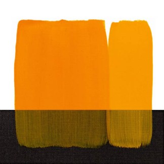 Акриловая краска Acrilico 1000 мл 114 желтый темный стойкий Maimeri Италия