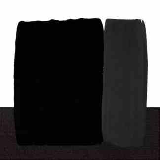 Акриловая краска Acrilico 1000 мл 537 угольно черный Maimeri Италия