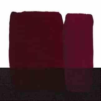 Акриловая краска Acrilico 200 мл 253 красный темный стойкий Maimeri Италия